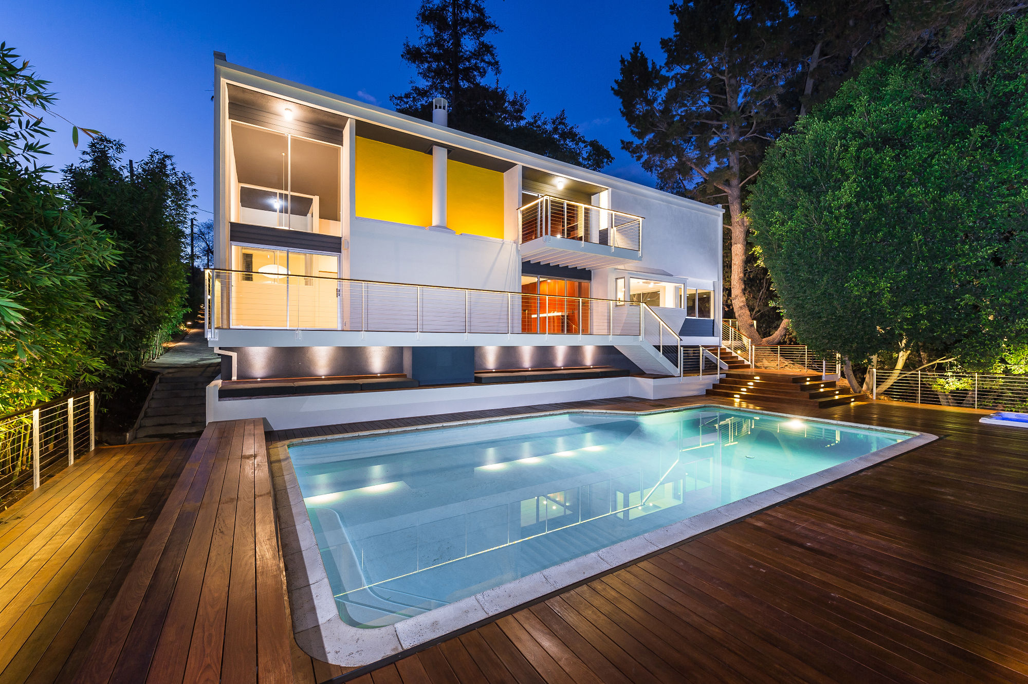 Historic renovation of Harlamb Georgescu home in Brentwood, Los Angeles, CA