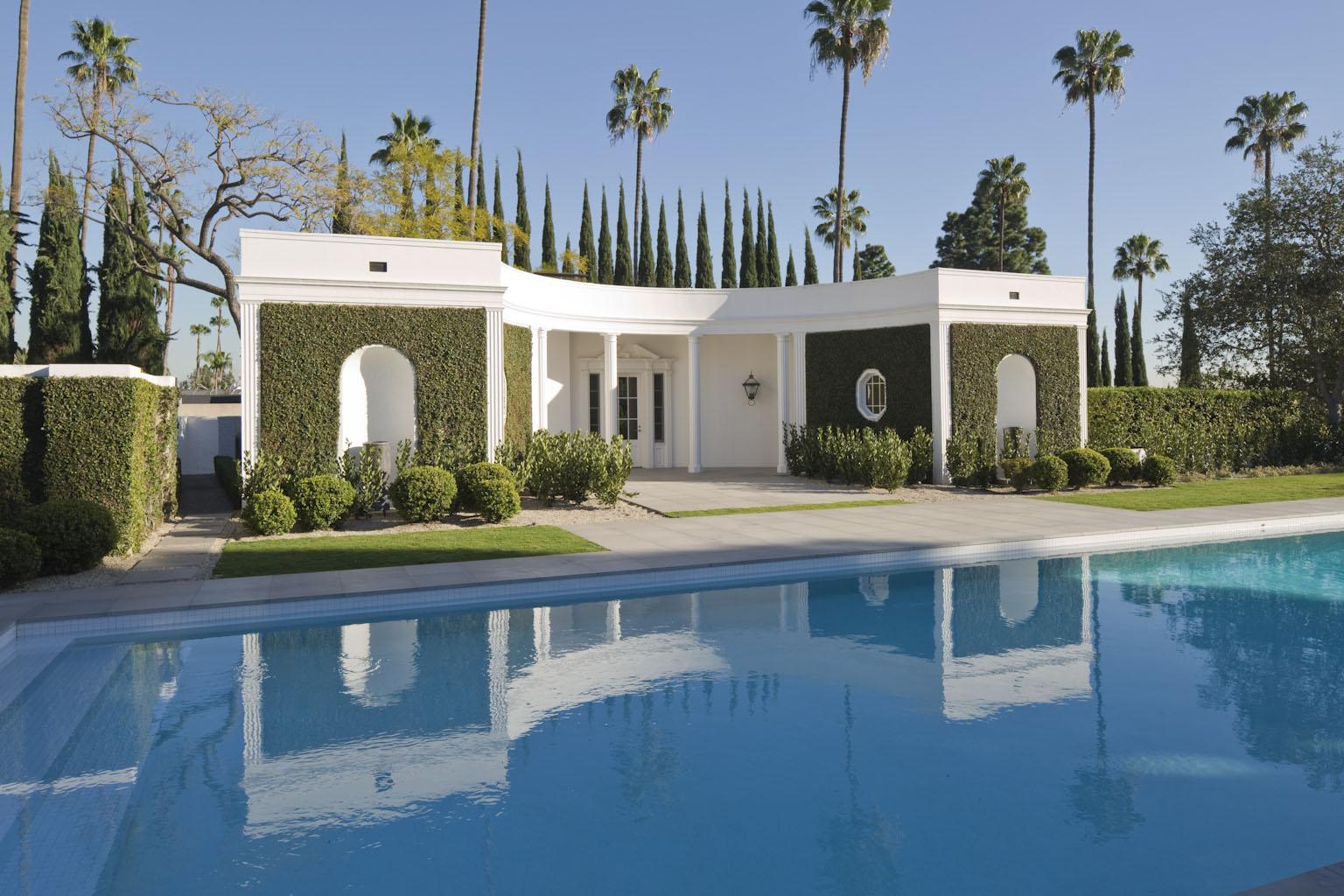 Hillcrest Pool house