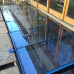 Glass Skylight and Bridge Walkway