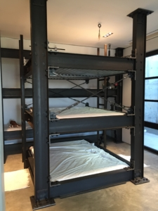 Industrial Style Bunk Beds for Boys