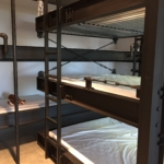 Steel Bunk beds that sleep 7