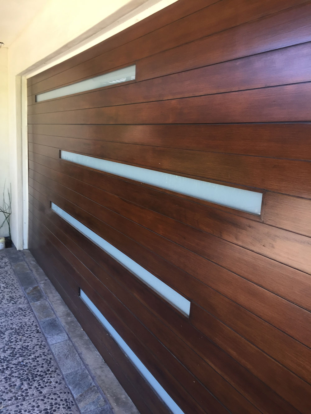 4-panel garage door design