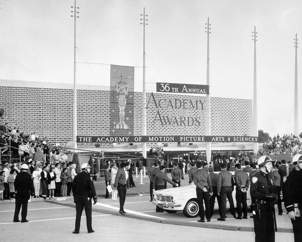 The Civic in Santa Monica, host of the 1964 Academy Awards