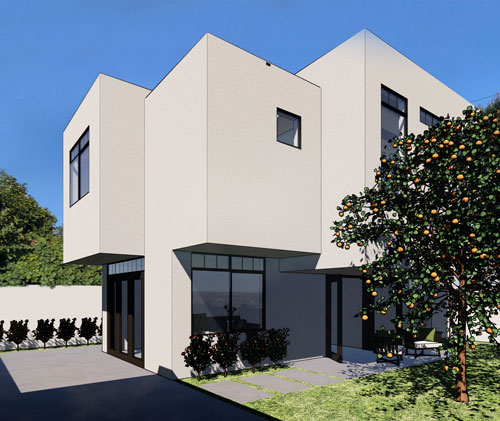 Converting garage to two-story ADU