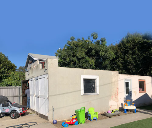Converting garage to accessory dwelling unit ADU