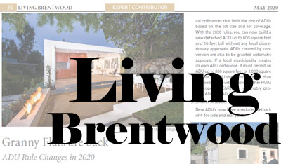 Kurt Krueger, Expert Architect in Living Brentwood, May 2020